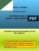 Biblia y Moral