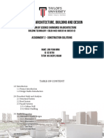 Building Technology Project 2 - Construction Solutions