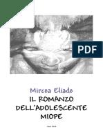 [ebook - ita] Mircea Eliade - Il romanzo dell'adolescente miope.pdf