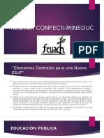 Reunión CONFECh-MINEDUC