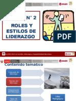 SESION N°2 ROLES Y ESTILOS DE LIDER