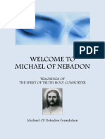 Welcome to Michael of Nebadon, Teachings of Spirit of Truth