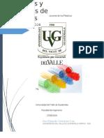 Investigacion No. 2  Polímeros y Plasticos