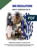 TR-Pharmacy Services NC III