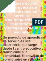 el trabajo comunitario en conjunto con la educacion