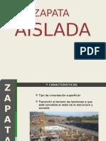 Zapata Aislada (3)