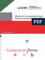 Composicion Aurea y Reticulas