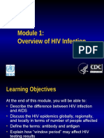 Module1 Overview Hivinfection