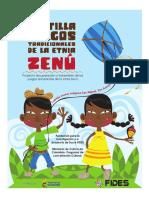 Cartilla Juegos Tradicionales de la etnia  Zenu