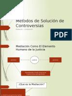 Metodos de Solucion de Controversia