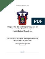Programa de Liderazgo Para Administradora