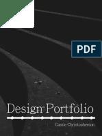 Cassie Christopherson Design Portfolio