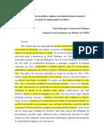 IV Seminário de Pós-graduandos - Artigo Escrevendo