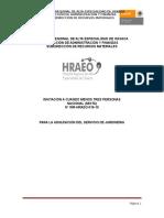 Bases de Licitacion Servicio de Jardinera Hraeo Ejemplo