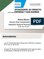 Gastos Rechazados Arturo Rivera Uft 2014