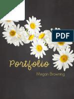Megan Browning COMM 130 Portfolio