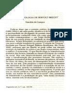 Breve Antologia de B.B. - Haroldo de Campos