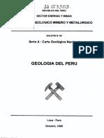 Ingemmet - Geología Del Perú