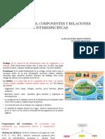 Clase 5. Ecosistemas, Componentes...