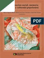 Transformación Social, Memoria Colectiva y Cultura(s) Popular(Es)
