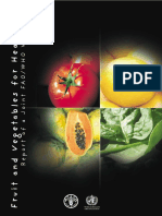 Impact of fruits on aging process