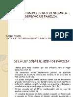 Derecho Notarial y Derecho de Familia