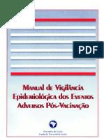 Guia de Vig  Epidemiológica - Efeitos Adversos de Vacinas