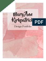 Mary Kirkpatrick Design Portfolio