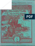 Christian Esoteric December 1938