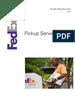 FedEx WebServices PickUpService WSDLGuide v2015