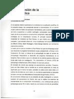 1- Artículo - Francisco Osorio - La Comprensión de La Hermenéutica
