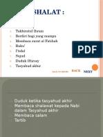 3. RUKUN SHALAT