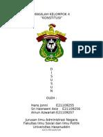 Paper Kelompok 4 Konstitusi Indonesia