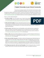 12 Ways to Kick Off Digital Citizenship in Your School Community