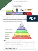 Pirámide de Maslow_ La Jerarquía de Las Necesidades Humanas