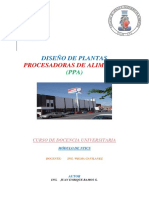 Diseño de Plantas Ppa