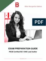 Pecb Iso 13485 Lead Auditor Exam Preparation Guide