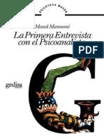 La primera entrevista con el psicoanalista [Maud Mannoni].pdf