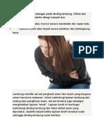 Gastritis Adalah Peradangan Pada Dinding Lambung