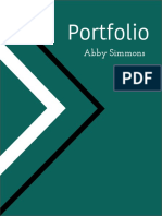 Abby Simmons Design Portfolio