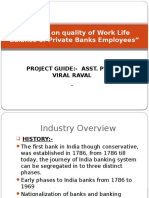 A Study on Quality of Work Life