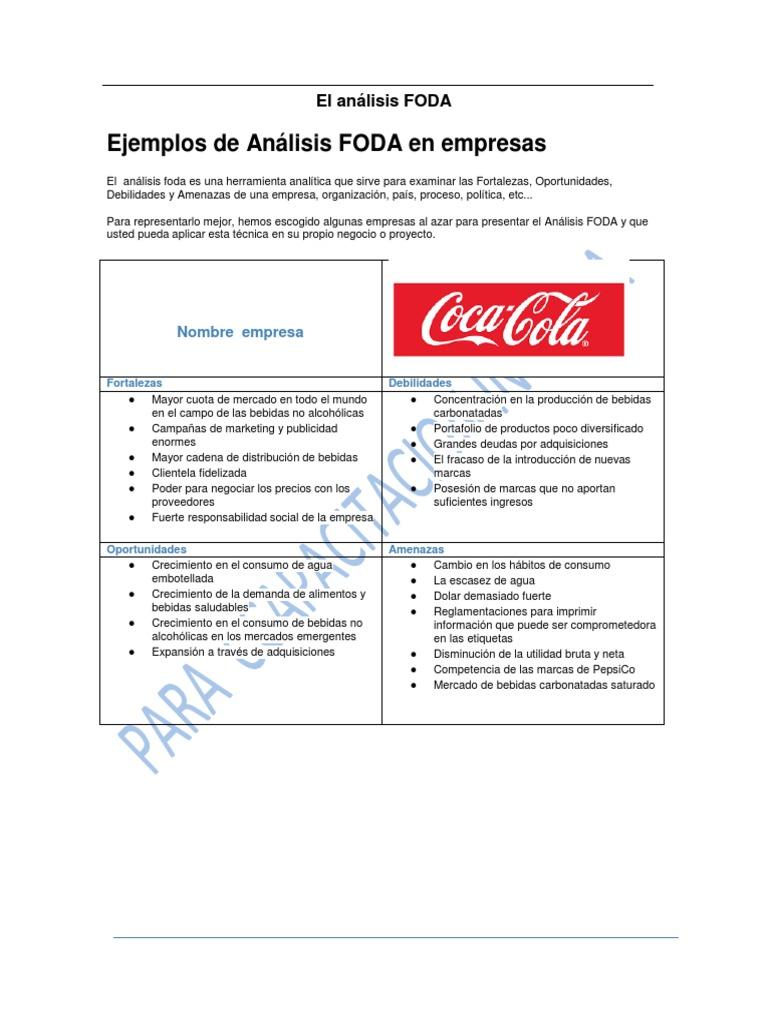 2 Ejemplos Analisis Foda Pdf