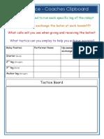 baton exchange task card 2