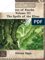 Elves of Faerun Volume III by Lord Karsus
