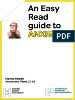 Easy Read Guide Anxiety