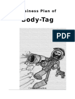 Business Plan of Body Tag