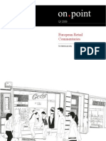 European Retail Commentaries Q1 2009