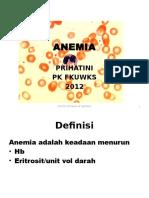 Anemia Pa Kar 12