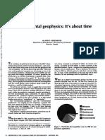 Environmental Geophysics