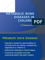 Metabolic Bone Diseases in Children